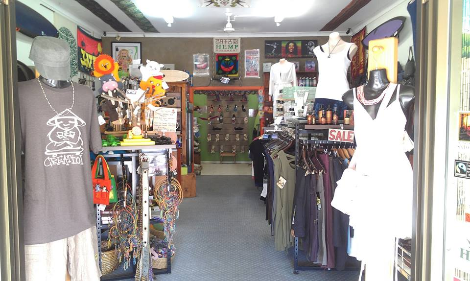 Hemp Clothing     Map with Hemp Clothing stores in the United States
