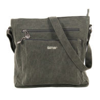 sativa alexandria hemp bag grey