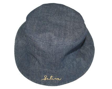Hemp Bucket Hat - Denim