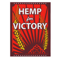 hemp for victory sticker