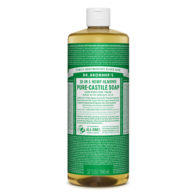 Dr Bronners - Almond Pure Castile Soap - 946ml
