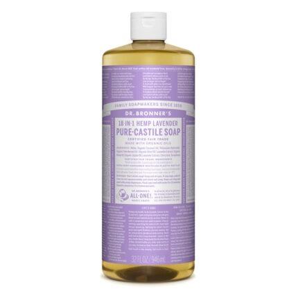 Dr Bronner's - Lavender Pure Castile Soap 946ml