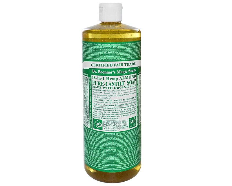 Dr Bronner 39 S Castile Soap Almond Hemp Store