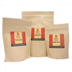 harveys hemp seed all sizes bio pouch