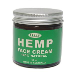 Hemp facial cream