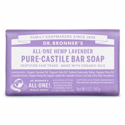 Dr Bronner's - Citrus Pure Castile Bar Soap