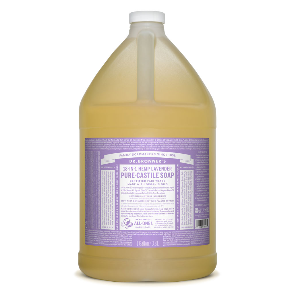 dr bronner 39 s lavender pure castile soap hemp store. Black Bedroom Furniture Sets. Home Design Ideas