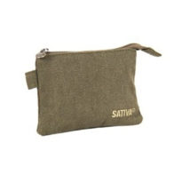 Sativa - Hemp Coin Pouch Khaki