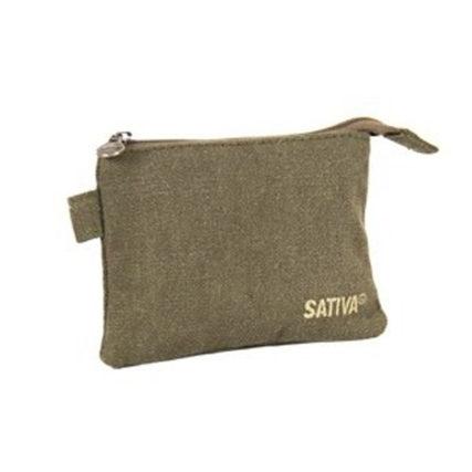 Sativa - Hemp Coin Pouch Khaki