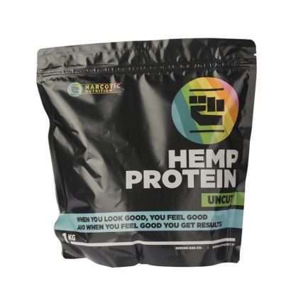 Narcotic Nutrition - Hemp Protein 1kg Uncut