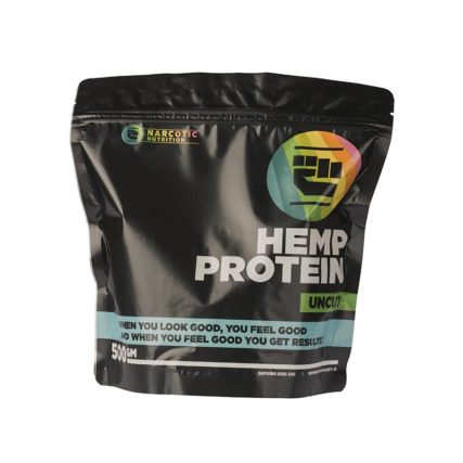 Narcotic Nutrition - Hemp Protein 1kg Uncut