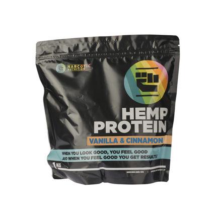 Narcotic Nutrition -  Hemp Protein 500g Vanilla & Cinnamon