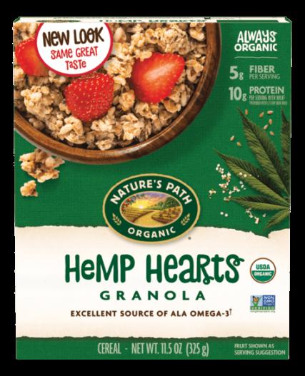 Nature's Path - Hemp Hearts Granola  325g