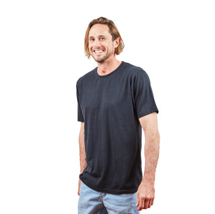 Hemp Clothing Australia - Men's T-Shirt Black