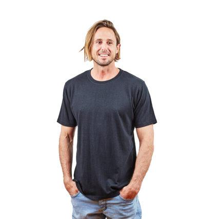 Hemp Clothing Australia - Men's T-Shirt Black