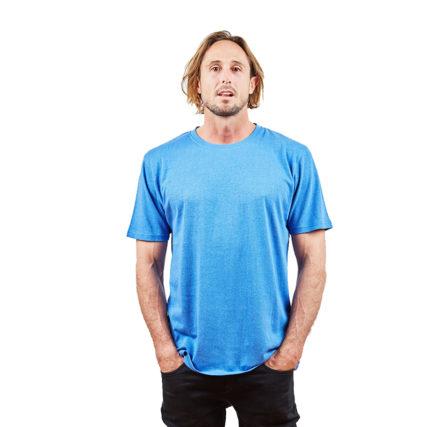 Hemp Clothing Australia - Men's T-Shirt Dutch Blue