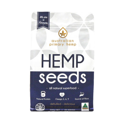 Australian Primary Hemp - Hemp Seeds 500g