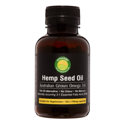Vita Hemp - Hemp Seed Oil Capsules