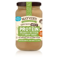 Mayvers - Peanut Butter with Hemp Seeds
