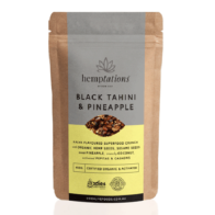 2 Die 4 Live Foods - Hemptations Black Tahini & Pineapple 80g