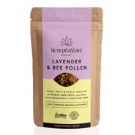 2 Die 4 Live Foods - Hemptations Lavender & Bee Pollen 80g