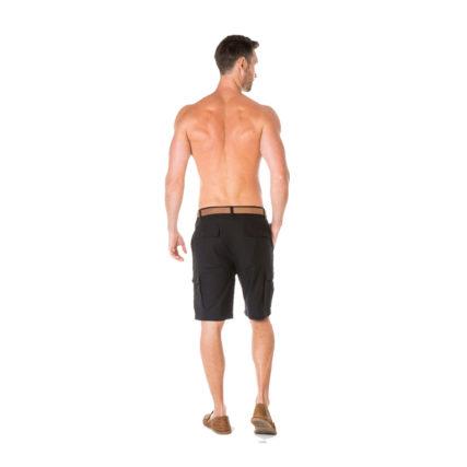 Braintree Hemp Clothing - Men's Cargo Shorts Black