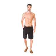 Braintree Hemp Clothing - Men's Cargo Shorts Black