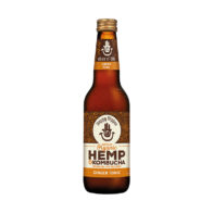 Happy Hippie - Hemp Kombucha Ginger Tonic 330ml