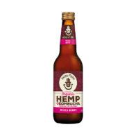 Happy Hippie - Hemp Kombucha Mixed Berry 330ml