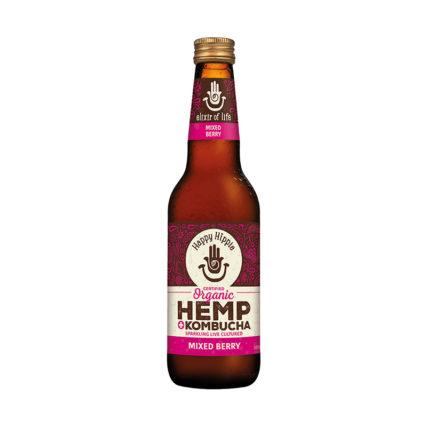 Happy Hippie - Hemp Kombucha Mixed Berry