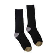 Hemp Clothing Australia - Hemp Crew Socks - Military - M 3-6 W 5-8