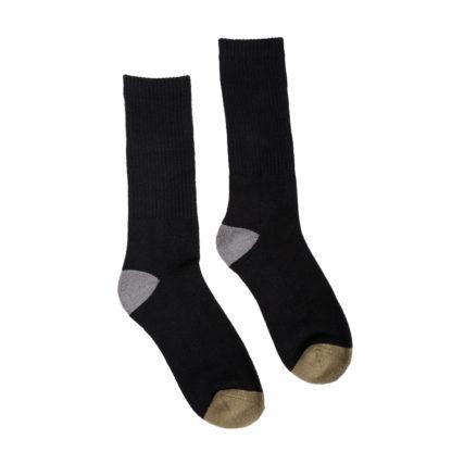 Hemp Clothing Australia - Hemp Crew Socks - Military - M 3-6 W 5-8