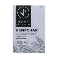 Hemp Collective - Hemp & Activated Charcoal Body Soap