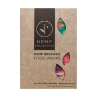 Hemp Collective - Hemp Beeswax Food Wraps Multi Coloured