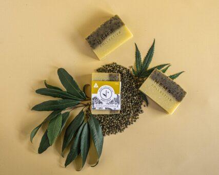 hemp store hemp collective hemp and lemon myrtle soap
