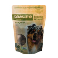 Pawsome Organics - Banana & Hemp Pet Treats