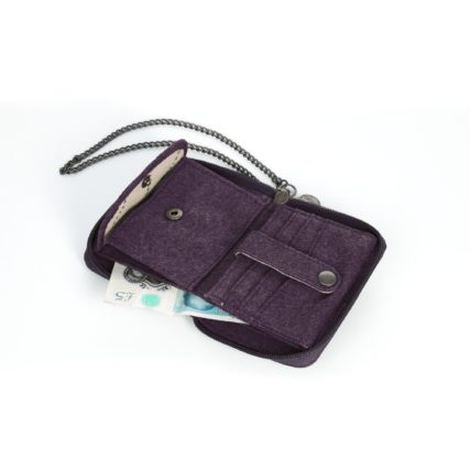 Sativa - Hemp Wallet with Chain