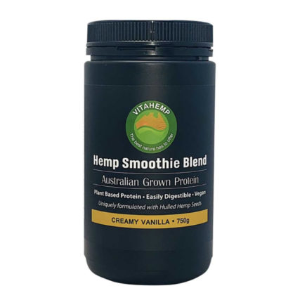 Vita Hemp - Hemp Smoothie Blend 750g (Creamy Vanilla)