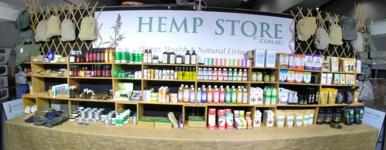 Hemp Store Exhibition Stand