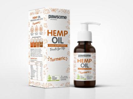 Pawsome Organics - Hemp Oil with Tumeric