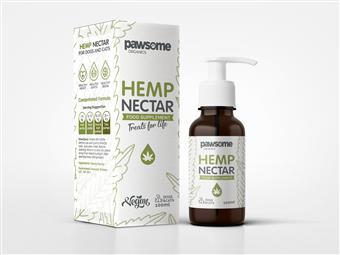 Pawsome Organics - Hemp Nectar for Dogs and Cats 100ml