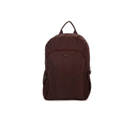 sativa hemp laptop backpack in brown