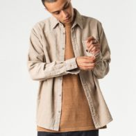 Afends - Faint Corduroy Long Sleeve Shirt