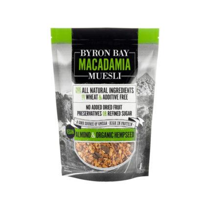 Byron Bay Muesli - Macadamia, Almond & Hemp Seed