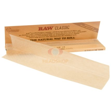 Raw- Classic King Slim Size Papers