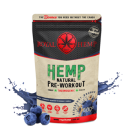 Royal Hemp - Hemp Natural Pre-Workout Blueberry Bounce