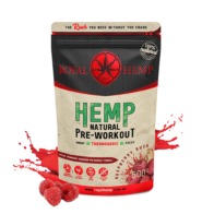 Royal Hemp - Hemp Natural Pre Workout Raspberry Rush