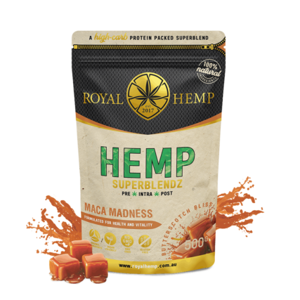 Royal Hemp - Hemp Superblendz Maca Madness Butterscotch Bliss