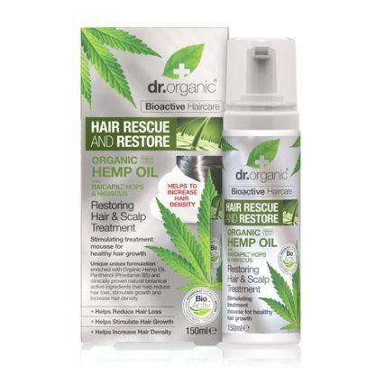 Dr Organic- Restoring Hemp Scalp Treatment