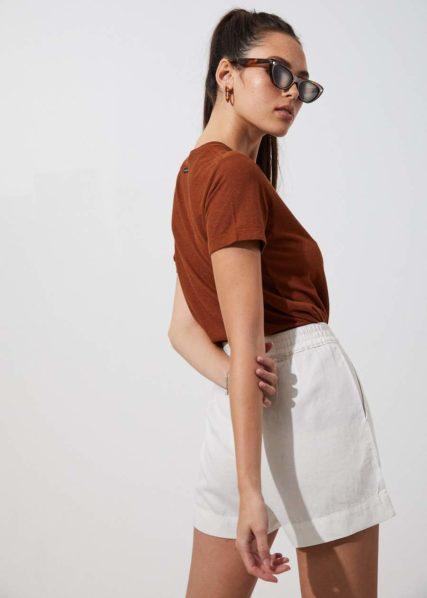 Afends - Jen Hemp Ruched Shorts
